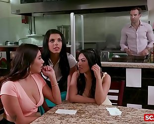 Scam girls - american sweethearts gina valentina and karlee grey scamming a rich fellow
