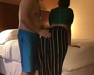 Dirty Married slut cheats in spouse in hotel