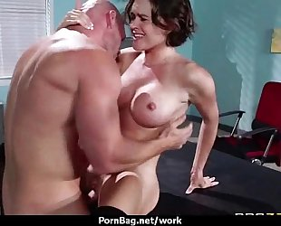 Busty working hotties getting boned from behind 11