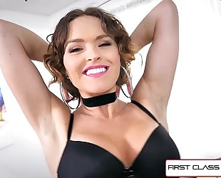 Firstclasspov - large gazoo krissy lynn is punished by a large rod, large love melons