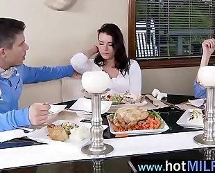 Hot superb milf (brandi love) receive nailed by large hard pecker fellow mov-09