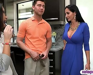 Ava addams and daisy summers naughty three-some session