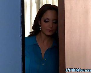 Busty femdoms ava addams and lisa ann fucking