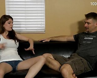 Dillion carter in my step dad punishes me