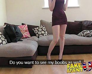 Fakeagentuk hawt italian playgirl shows unbelievable unfathomable face hole skills