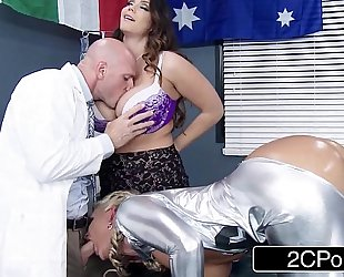 Ski hill medical duett can't live without to fuck patients - alison tyler, phoenix marie