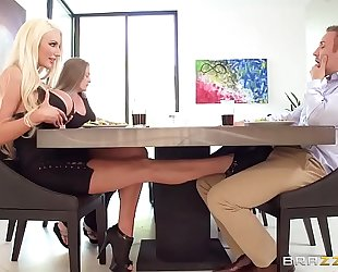 Nicolette receives her large a-hole drilled receive greater quantity