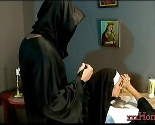 Ariella ferrera in the holy nun conversion