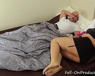 Horny mommy blackmails stepson