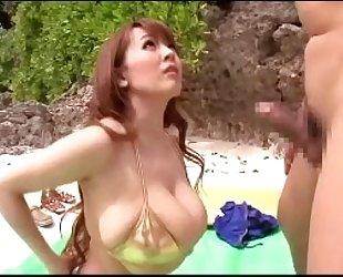 Tit fuck in bikini 1 (by tit fuck specialist)