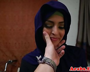 Arab sweetheart throathed and drilled balls unfathomable
