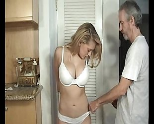 Door to door white wife fastened and gagged part 1