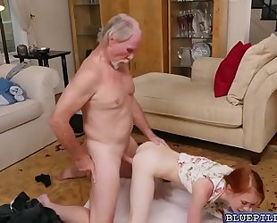 Amazing babe dolly little widening her legs