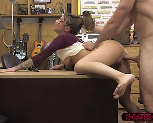 Horny and hot felicity feline acquires hammered by shawns massive pecker