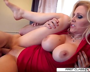 Julia's spouse can't live without watching her getting pounded by other chaps