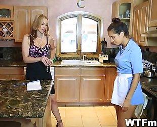 Hot maid needs a fucking