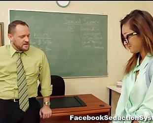Hot school hotwife alina li
