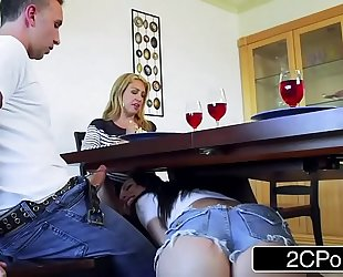 Married chap has trouble turning down aidra fox and her incredible melons