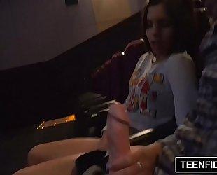 Teenfidelity katya rodriguez constricted legal age teenager creampie