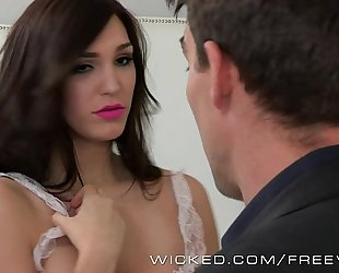 Holly michaels is one hawt maid