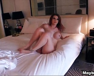 Amazing redhead assents to anal rainia belle two three