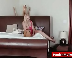 Submissive - fan receives cage screwed with alexa raye and vanessa cage tube video-01