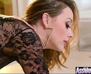 Big gazoo slutty wife (chanel preston) receive oiled all over and anal nailed video-07