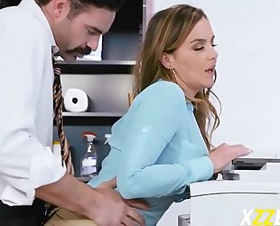 Natasha precious in office free fucking