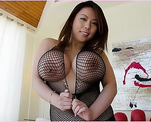 Bangbros - tigerr benson is a hot oriental with biggest zeppelins and a bulky gazoo!