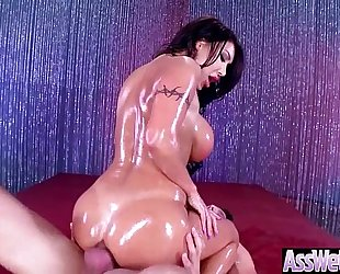 Hot curvy hotwife (august taylor) with large butt receive anal sex mov-14