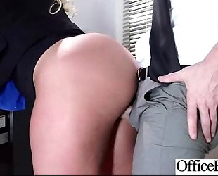 (julie cash) hawt white wife with round large juggs in hardcore sex in office mov-21