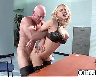 Hard sex with large billibongs wench office slutwife (alix lynx) clip-02