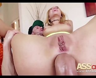 Teen anal smashing alina west
