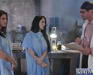 Gorgeous bitch patient (noelle easton & peta jensen) entice and group sex with doctor mov-24