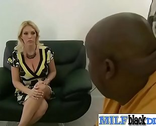 Interracial sex tape with monster weenie ride by milf (charlee chase) mov-08