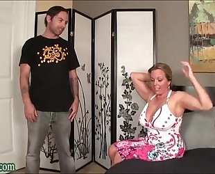 Boy fucking not his mama massive breasts milf