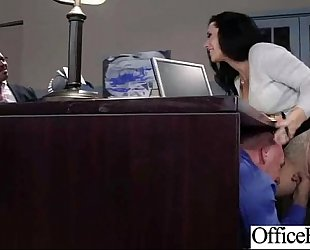 (jayden jaymes) large milk cans housewife have a fun hard style sex in office clip-17