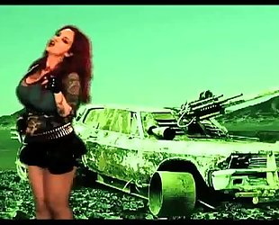 Sabrina sabrok - the blitzkrieg bop (official movie clip) rockstar largest pantoons