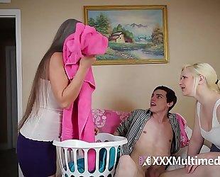 Milf copulates legal age teenager daughter's boyfriend featuring leilani lei and fifi foxx - cougar bonks 18yo lad