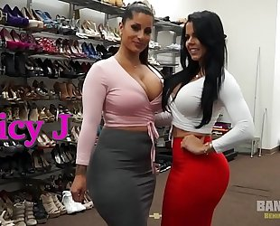 Bangbros - behind the scenes with lalin girl sweethearts spicy j and diamond kitty