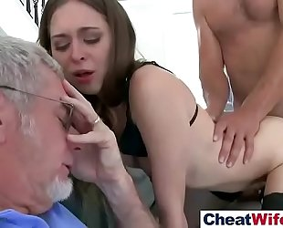Cheating sluty cheating wife (riley reid) in sex story on tape video-27