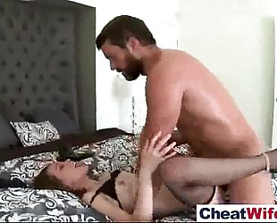 (riley reid) lewd slutty wife cheating in hard style sex scene video-27