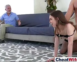 (riley reid) cheating hotwife like hard style sex on camera vid-28