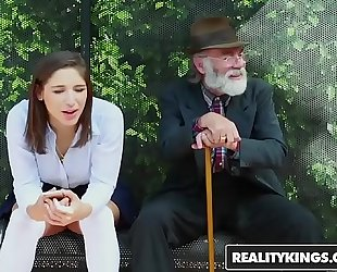 Realitykings - nubiles love massive dicks - (abella danger) - bus bench creepin